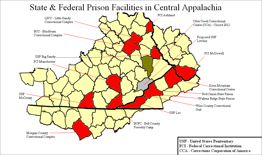 us bureau of prisons holds open house public scoping meeting in letcher county