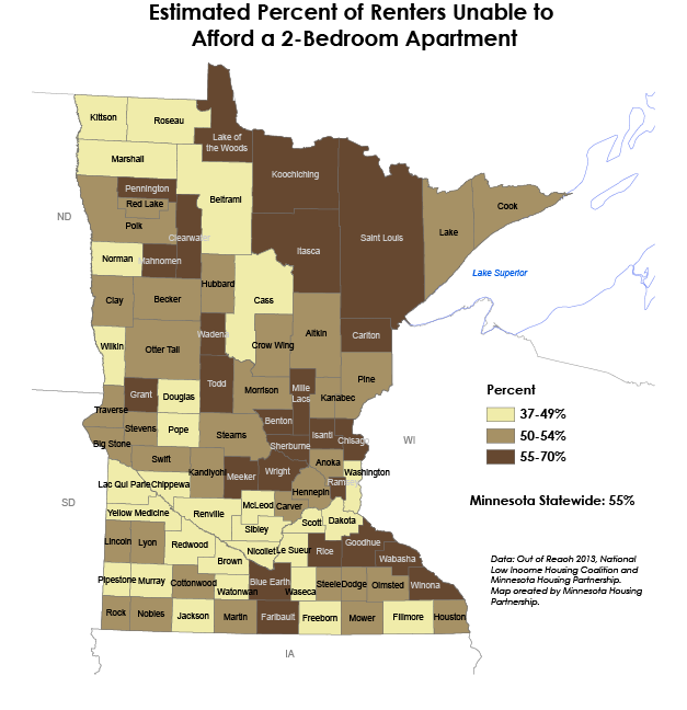 mhp out of reach map MN