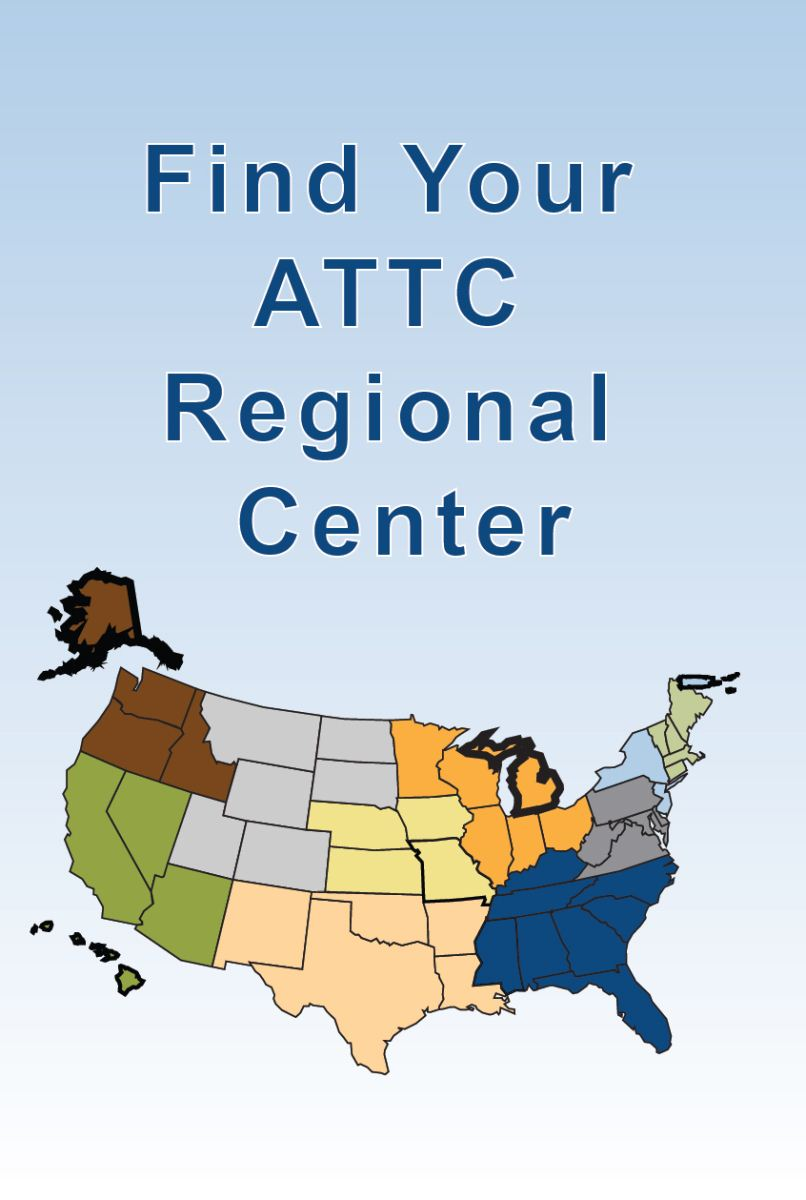 Find Your ATTC Regional Center