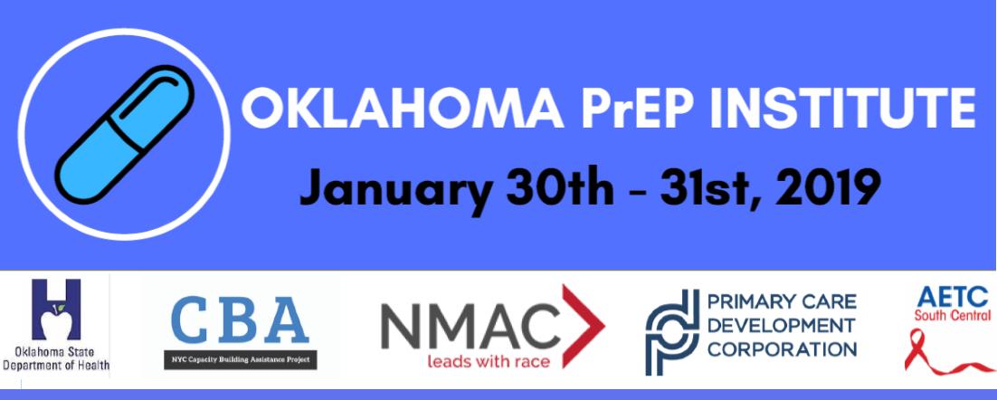 Oklahoma PrEP Institute banner